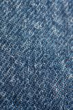 Pattern on jeans Royalty Free Stock Photography