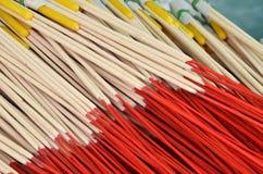 Pattern of joss stick Royalty Free Stock Image