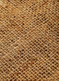 The pattern of jute sack for background Stock Photo