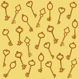 Pattern keys Stock Photos