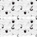 Pattern for kids, girls and boys. Vector illustration. It can be used to create prints, packaging, invitations, simple designs, gi. Using the elements of this Stock Photography
