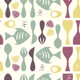 Pattern Kitchen Stock Images