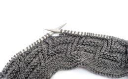 Pattern of knitting Stock Photo