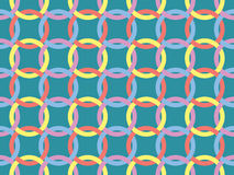 Pattern with knots Royalty Free Stock Image
