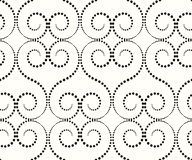 The pattern of large whorls Stock Image