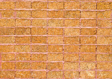 Pattern of laterite stone wall surface Royalty Free Stock Image