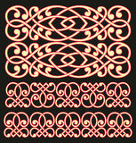 Pattern lattice Stock Image