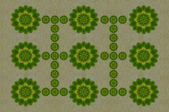 Pattern  from leaf Stock Image