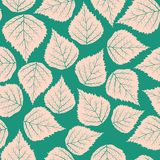 Pattern leafs Stock Photography