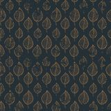 Pattern leafs gold Royalty Free Stock Photo