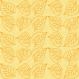 Pattern of  leaves Royalty Free Stock Images