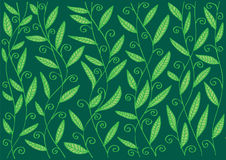 Pattern with  leaves and branches. Stock Photo