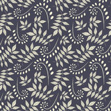 Pattern from leaves and bulbes Royalty Free Stock Photography