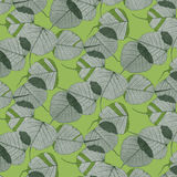 Pattern- leaves and camouflage Royalty Free Stock Images