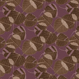 Pattern- leaves and camouflage Royalty Free Stock Photos