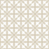 Pattern with leaves. Vector illustration Royalty Free Stock Images