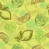 Pattern lemon Stock Photo
