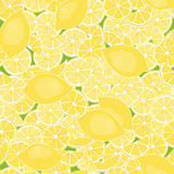Pattern from lemons Stock Photo