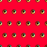 Pattern with lens Royalty Free Stock Image
