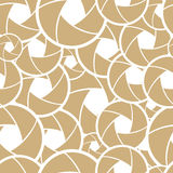 Pattern with lens Stock Image