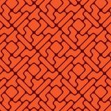 Pattern like tetris Royalty Free Stock Images