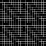 Pattern with line black and white Royalty Free Stock Image