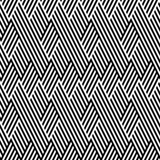 Pattern with line black and white Stock Images