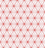Pattern line with star Stock Photography