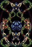 Pattern line thai Royalty Free Stock Photos