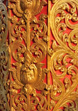 Pattern line thai lanna style Royalty Free Stock Images