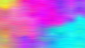Pattern with lines Rainbow aurora borealis. Abstract colorful background. Bright striped pattern Vector illustration. Bright neon colors. Vivid gradient Royalty Free Illustration