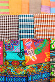 Pattern of Local Colorful Clothes. Luangprabang Laos Stock Image