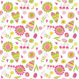 Pattern with love Royalty Free Stock Photo