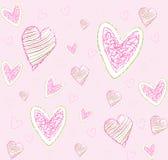 Pattern love Royalty Free Stock Photo