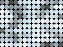 Pattern low poly circle style vector mosaic. Background Royalty Free Stock Images