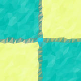 Pattern low poly triangle style vector mosaic. Background royalty free illustration