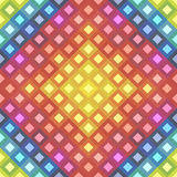 Pattern made of colorful squares Stock Image