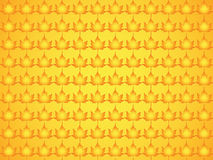 Pattern made of maple leaves Royalty Free Stock Photo