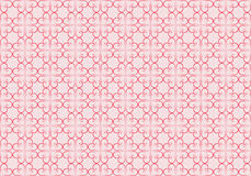 Pattern made of vintage valentines Royalty Free Stock Photo