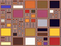 Pattern-making motherboard Stock Images