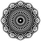 Pattern mandala Stock Image