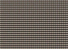 Pattern of a many shiny pearls on black backgrounds Stock Photography