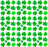 Pattern of  maple leaves Royalty Free Stock Photography