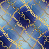 Pattern in marine style. Royalty Free Stock Photo
