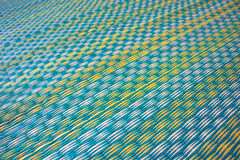 Pattern of the mat in local traditional Thailand Royalty Free Stock Image