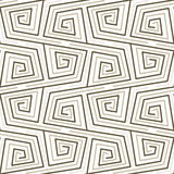 Pattern Meander. Meander greek style vector seamles pattern Stock Photography