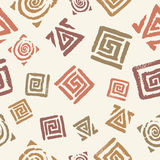 Pattern of the meanders Stock Images