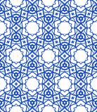 Pattern with Mediterranean & Moroccan motifs Royalty Free Stock Image