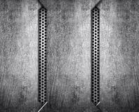 Pattern of metal background Stock Images