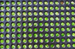 Pattern of metal background Stock Image
